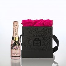 Flowerbox: Infinity Rosen - Pink - Moët Rosé Capsule Collection