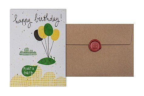 Grow Card: happy birthday