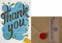 Grow Card: Thank you