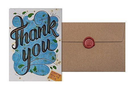 Grow Card: Thank you - Telegramm