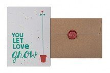 Grow Card: You Let Love grow