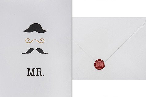 Mr. - Moustache - Telegramm